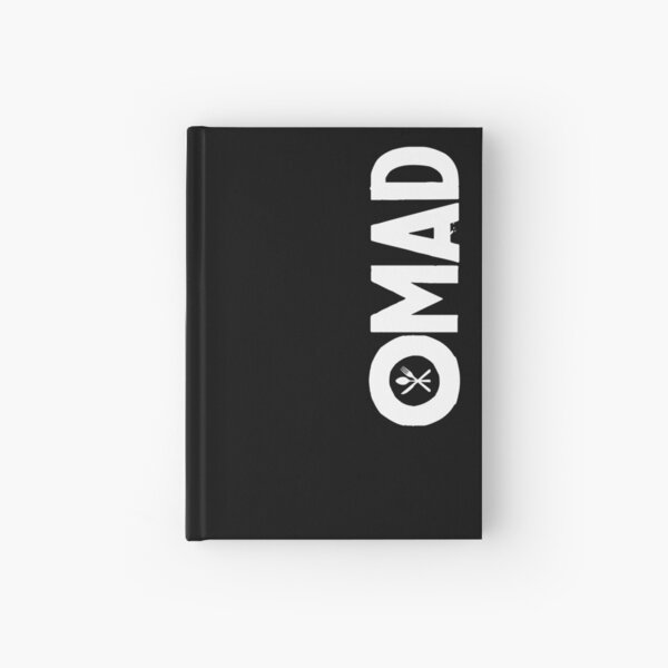 OMAD: One Meal a Day (Black) Hardcover Journal