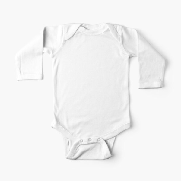 OMAD: One Meal a Day (Black) Long Sleeve Baby One-Piece