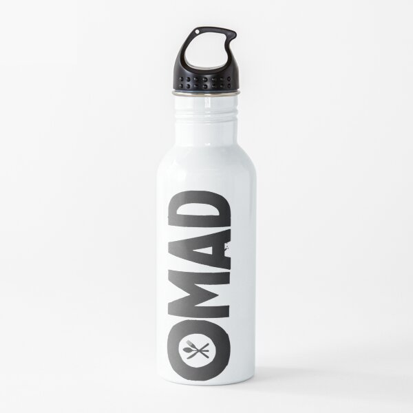 OMAD: One Meal a Day (Black) Water Bottle