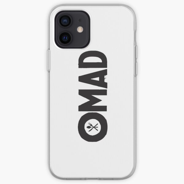 OMAD: One Meal a Day (White) iPhone Soft Case