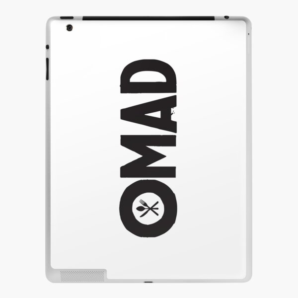 OMAD: One Meal a Day (White) iPad Skin