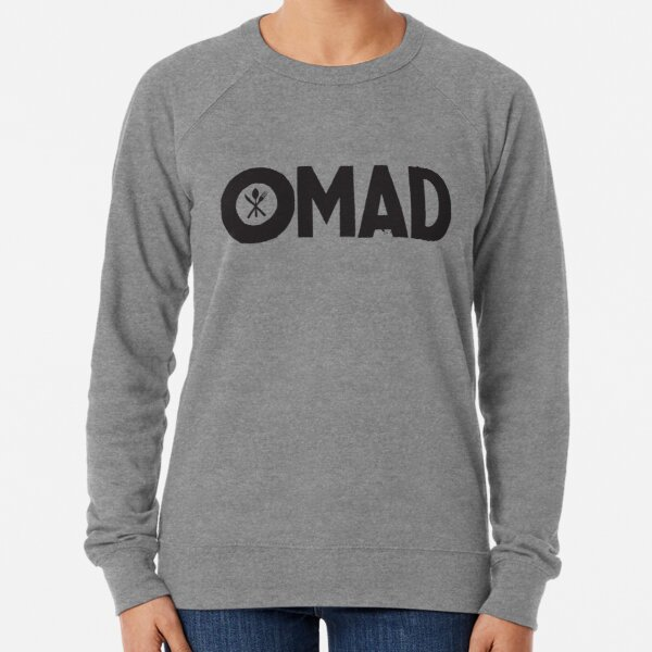 OMAD: One Meal a Day (White) Lightweight Sweatshirt