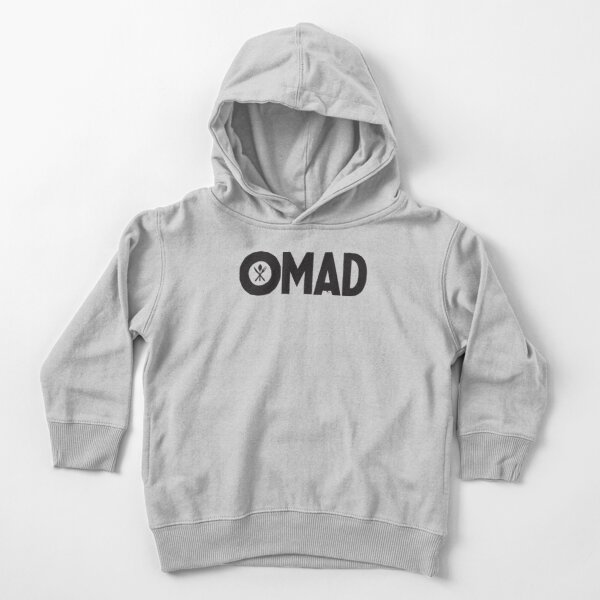 OMAD: One Meal a Day (White) Toddler Pullover Hoodie