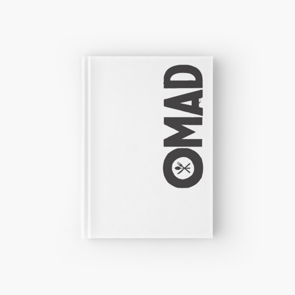 OMAD: One Meal a Day (White) Hardcover Journal