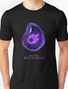 Soul of the Black Mage -black Unisex T-Shirt