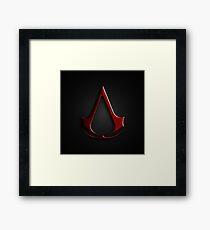 Cree Assassins Logo Framed Print