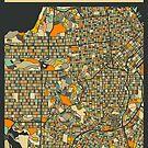 SAN FRANCISCO MAP by JazzberryBlue