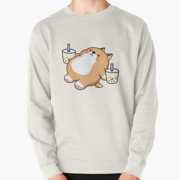 Lazy Shiba liebt Boba! Pullover