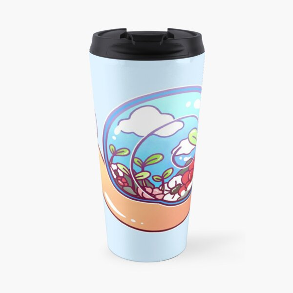 Cute Terrarium Snail Travel Mug