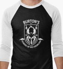 Burton's School of Bio-Exorcism Men's Baseball ¾ T-Shirt