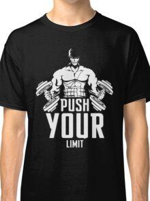 Roronoa Zoro Train Hard And Push Your Limit  Classic T-Shirt