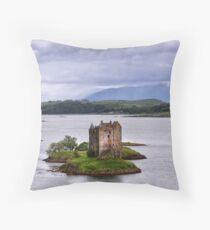 Castle Stalker Throw Pillow