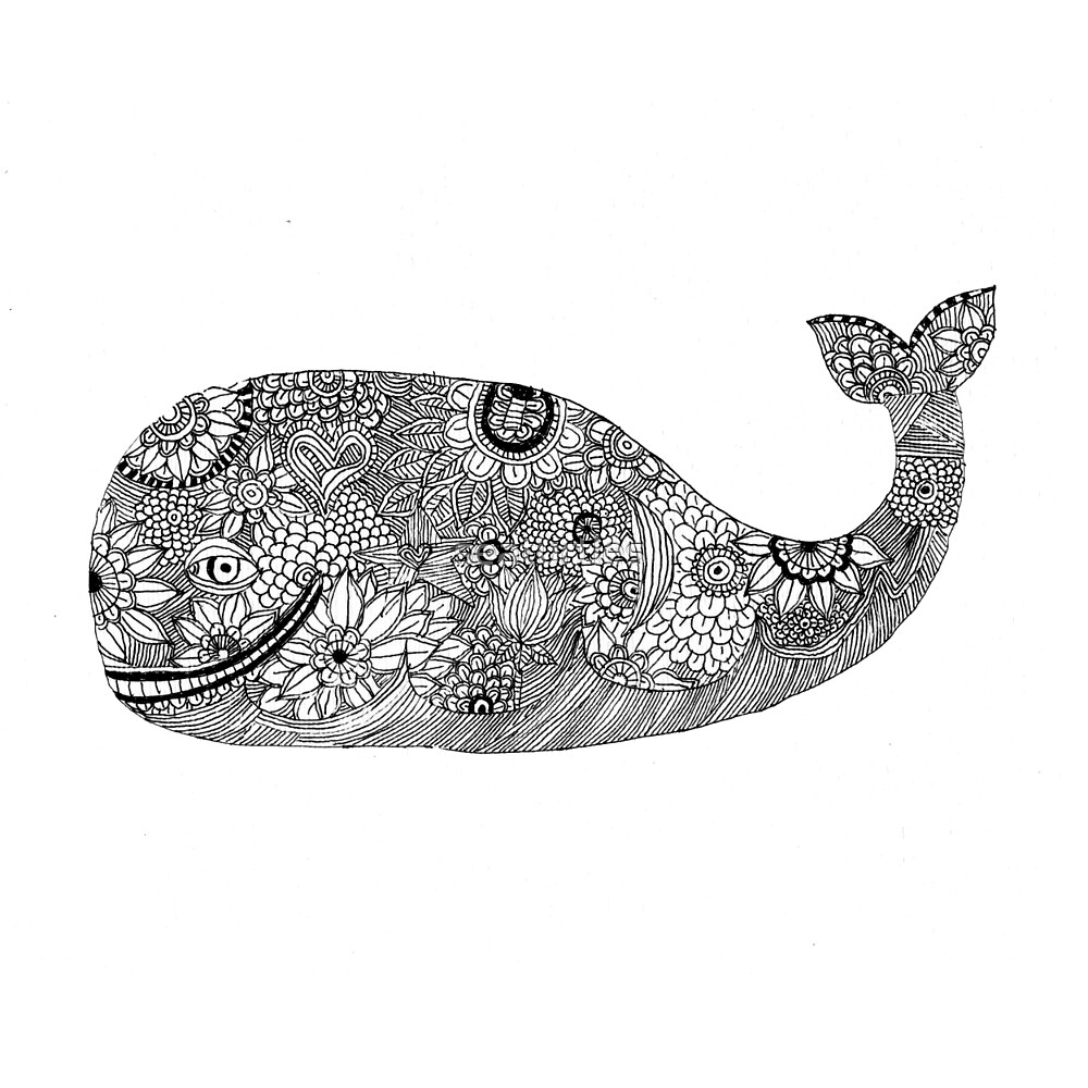 Whimsical Whale by seaturtles