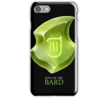 Soul of the Bard -black iPhone Case/Skin