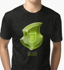 Soul of the Bard -black Tri-blend T-Shirt
