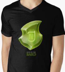 Soul of the Bard -black Men's V-Neck T-Shirt