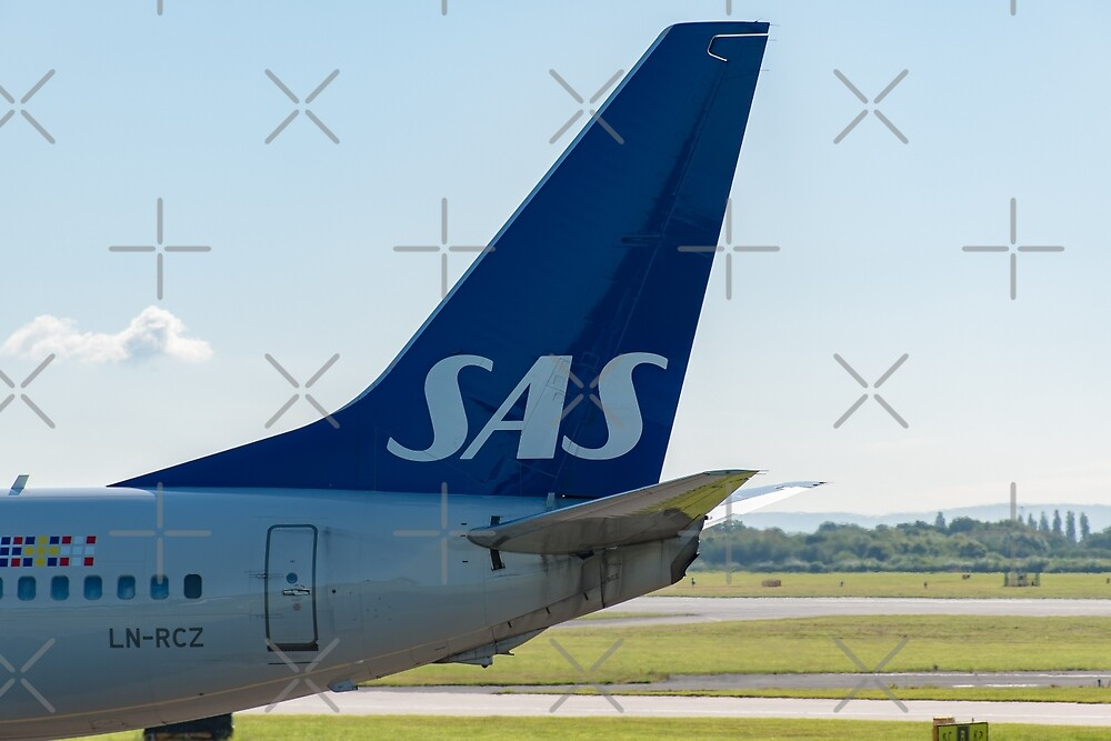 Scandinavian Airlines Boeing 737 tail livery by Russell102