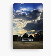 His Touch Canvas Print
