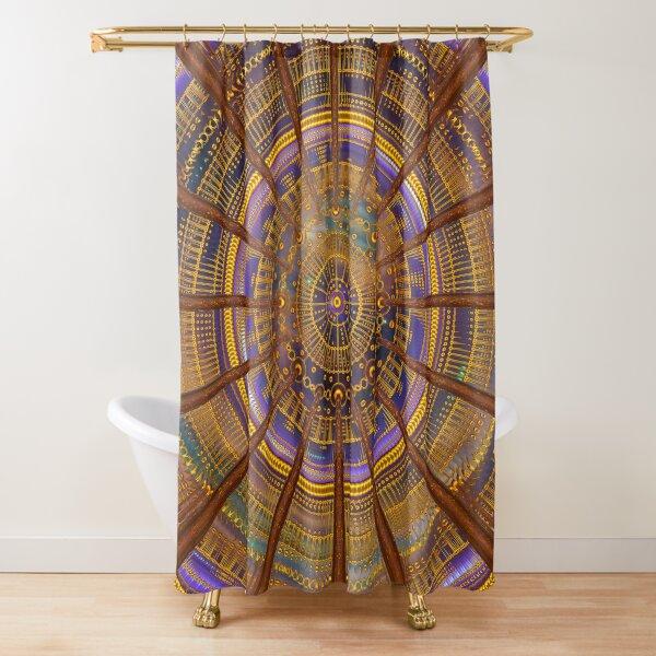DNA Healing Room Shower Curtain
