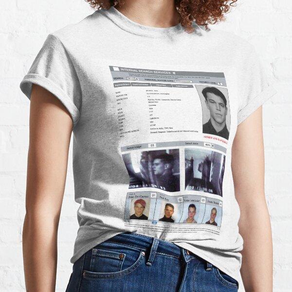 JASON BOURNE SEARCH FAX Classic T-Shirt