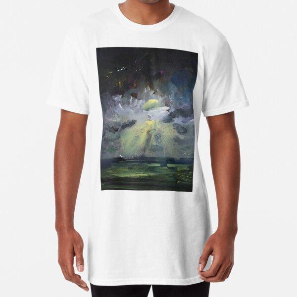 Abstract Landscape Storm 297 Long T-Shirt