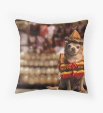 Chihuahua Bandito Throw Pillow