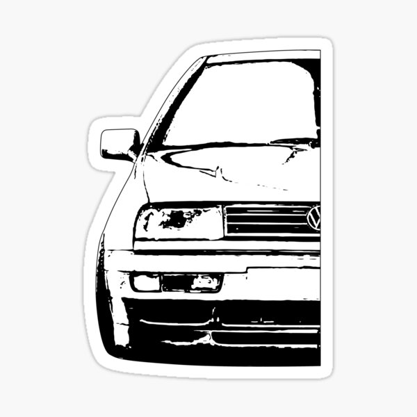 "/""FUKKENMUVEN/""/"" decal sticker Drift JDM German Cars for the VW enthusiast"