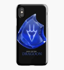 Soul of the Dragoon -black iPhone Case