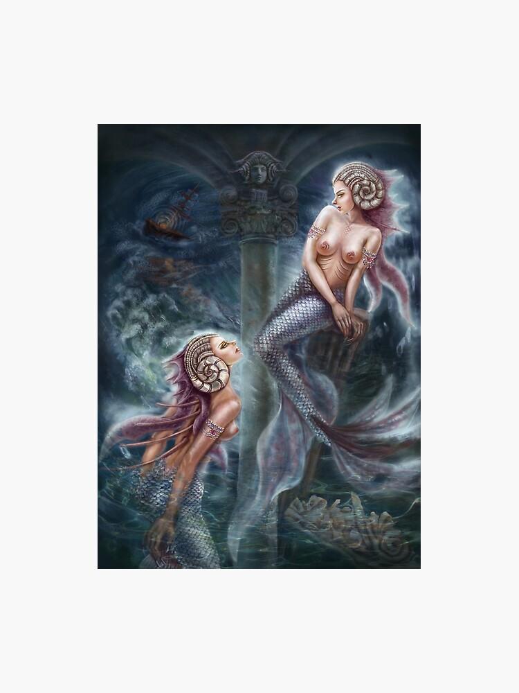 Fantasy Siren Art