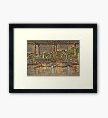 Harborgate Boats Framed Print