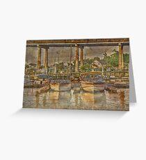 Harborgate Boats Greeting Card