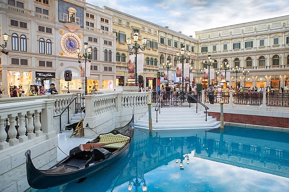 Venetian Hotel Casino Macau by Frank Moroni