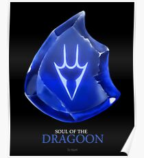 Soul of the Dragoon -black Poster