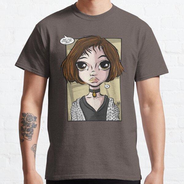 Pop Culture Caricature #25 - Mathilda Classic T-Shirt