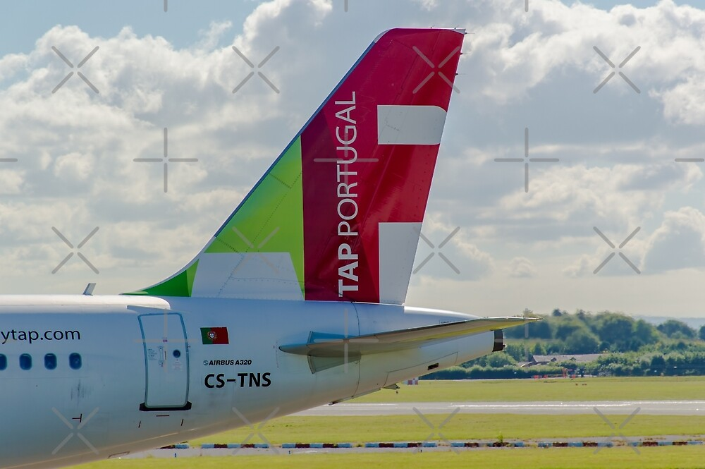 Air Portugal (TAP) Airbus A320 tail livery by Russell102