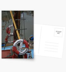 Sailing Barge Greta Postcards