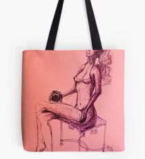 What Are You Doing?     Tote Bag