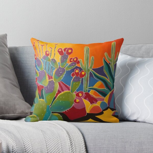 Desert LIght Throw Pillow
