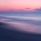 Beach Sunrise Abstract by Michael Mill