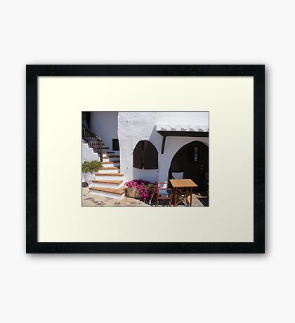 A seat in the heat! Framed Print