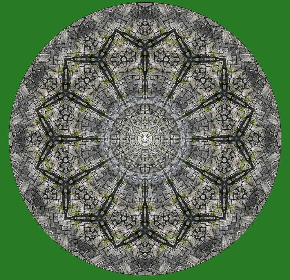 STONE WALL MANDALA by ReflectionsbyFW
