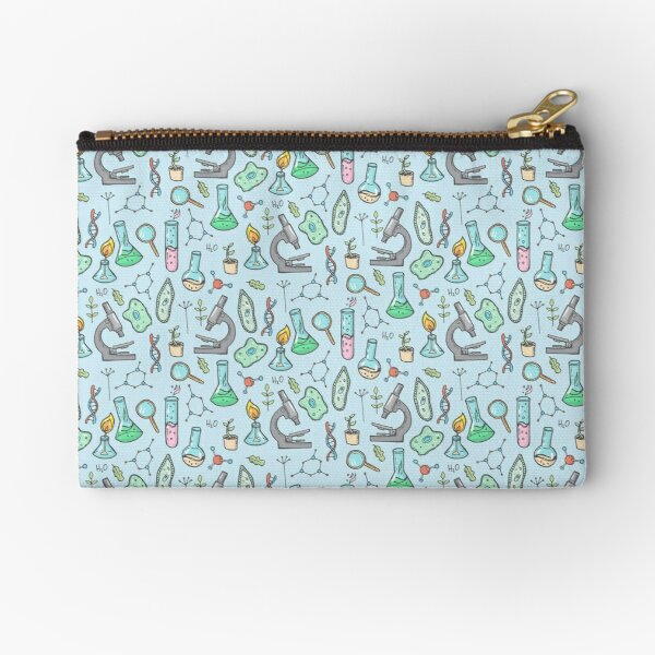 Biology and chemistry Zipper Pouch