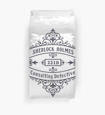 Consulting Detective (blue) Duvet Cover