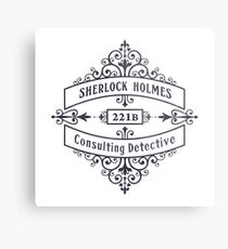 Consulting Detective (blue) Metal Print