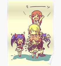 Chibi Fairy Tail Poster