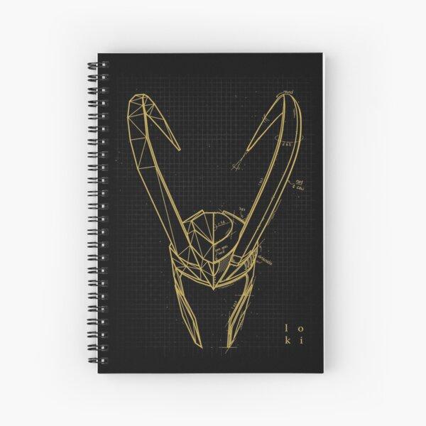 Mischief Concept Spiral Notebook