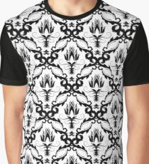 floral damask background Graphic T-Shirt