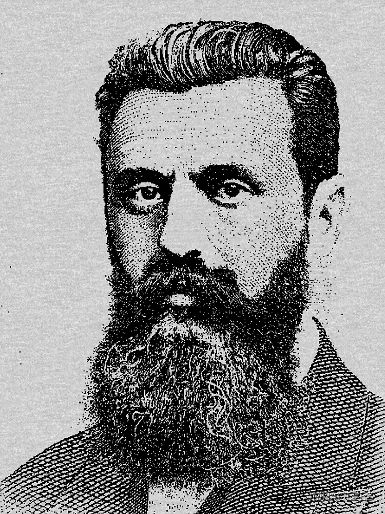Theodor Herzl by IMPACTEES