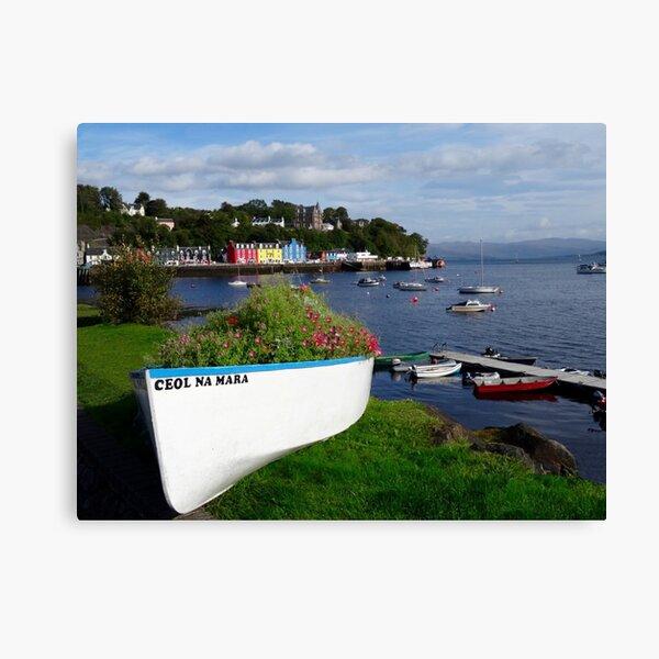 Tobermory, Isle of Mull Scotland Canvas Print