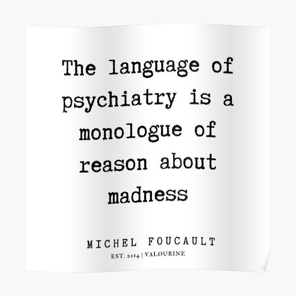 Michel Foucault Arte Foto impresión Poster De Regalo la teoría social cotización